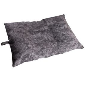 shop MEDIUM Bizzy Beds® Dog Bed with Zipper -- Charcoal
