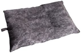 shop MEDIUM Bizzy Beds™ Dog Bed with Zipper -- Charcoal