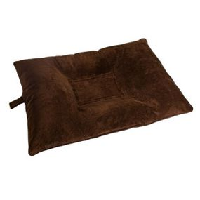 shop MEDIUM Bizzy Beds™ Dog Bed with Zipper -- Chocolate