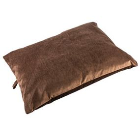 shop MEDIUM Bizzy Beds® Pillow Bed -- Brown
