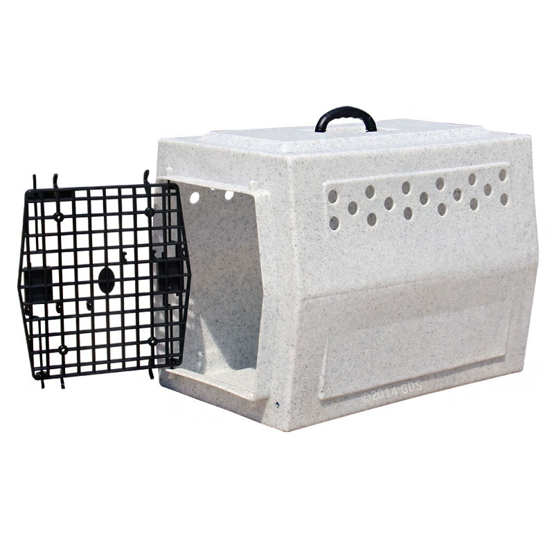 Mopix Medium Dog Crate Door Open On Left Side