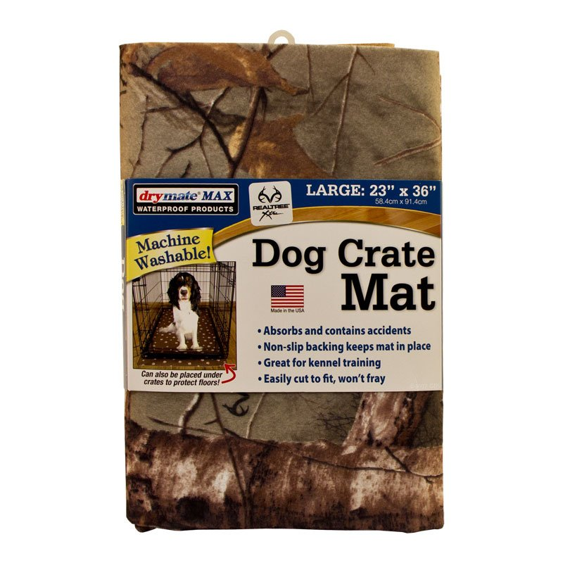 MEDIUM Drymate Crate and Kennel Pad Package Detail