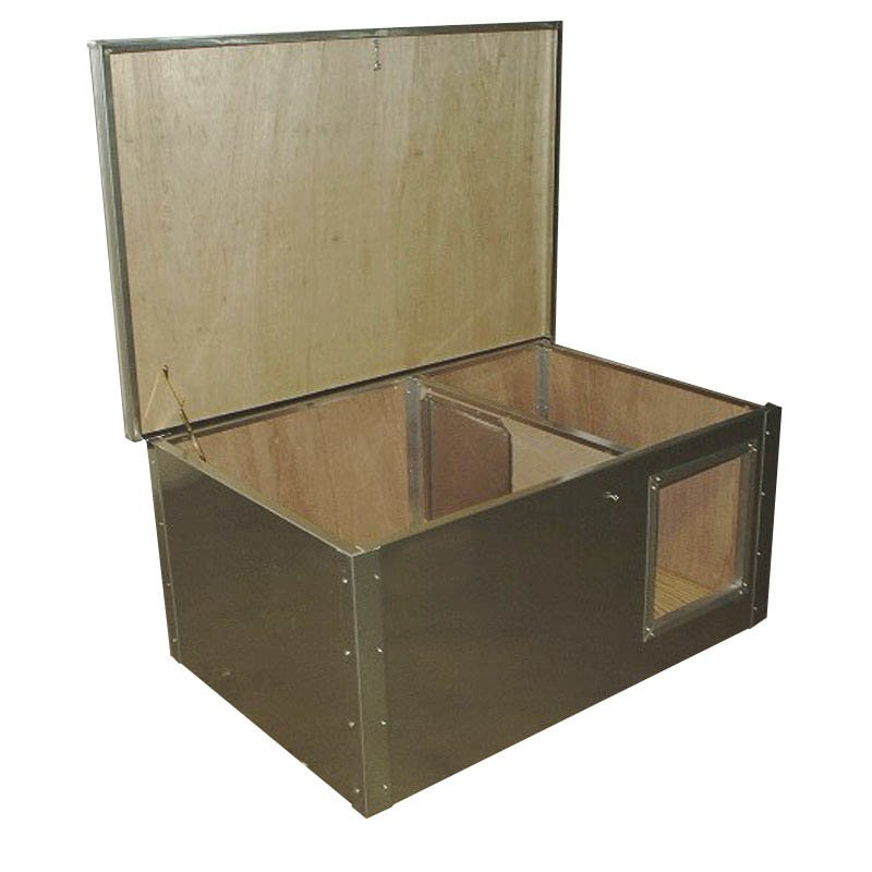 Dog House With Removable Lid