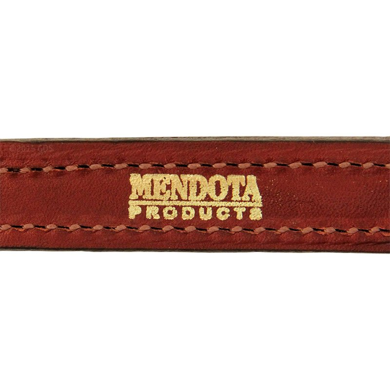 Mendota 6 in. Leather Steady Tab Inside Stitching Detail