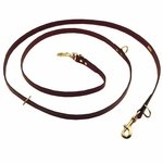 shop Mendota 8 ft. Leather Jaeger Multi-Use Lead