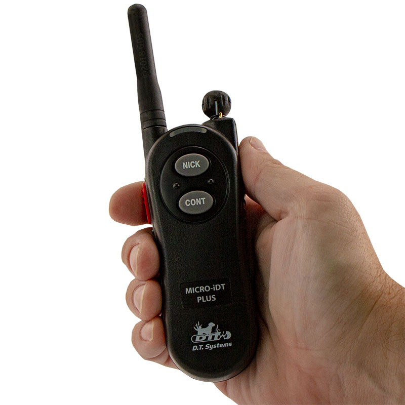 Micro iDT PLUS Transmitter in Hand
