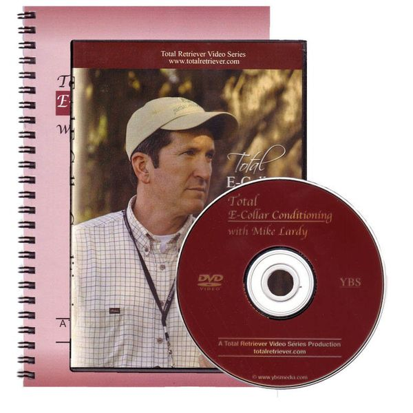 Mike Lardys Total E-Collar Conditioning DVD + Book
