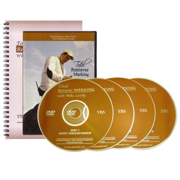 Mike Lardys Total Retriever Marking DVD Set and Book