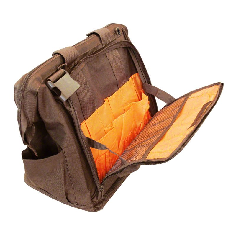 Mud River Handler's Bag Open Front Alt. Angle
