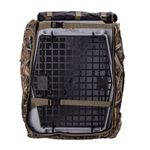 shop Camo Uninsulated Kennel Cover Front Flap Open