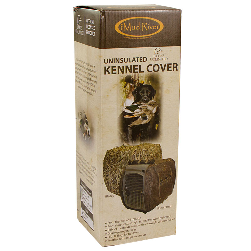 Camo Uninsulated Kennel Cover Box Detail