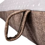 shop LARGE Bizzy Beds -- Gray Stars/Brown Handle Detail