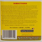 shop Fly & Mosquito Repellent Back Label Detail