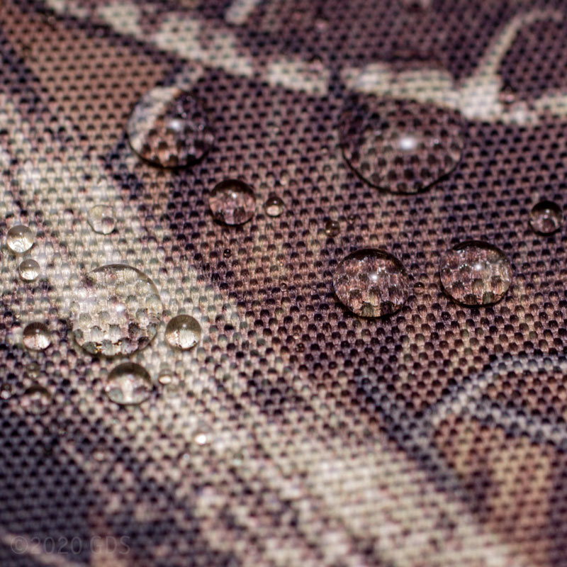 Water Beading on True Timber HTC Camo