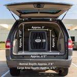 shop Lucky Dog Intermediate Kennel in Big SUV