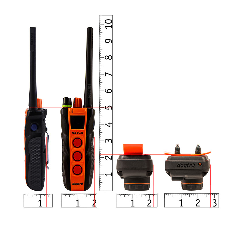Dogtra T&B Dual Transmitter and Collar Scaled