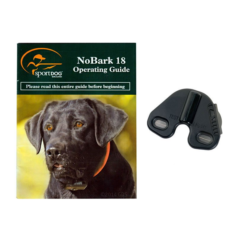 NoBark 18 Manual and Accessories