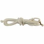 Firm Lay Nylon Check Cord -- White 7/16 in. x 20 ft.