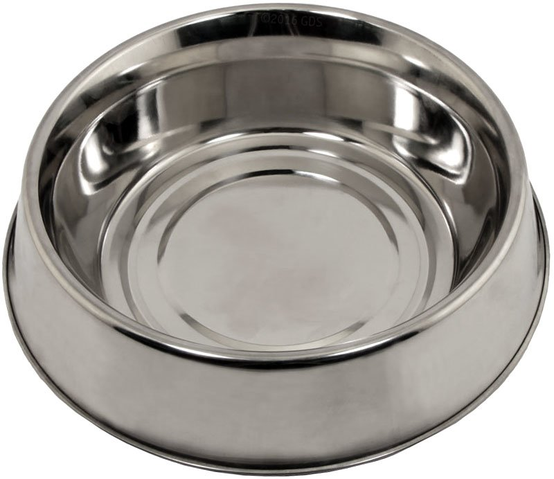 1 Qt Omnipet Stainless Steel Anti Ant Dog Food Bowl 4 99