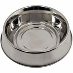 shop 2 qt. Omnipet Stainless Steel Anti-Ant Dog Food Bowl