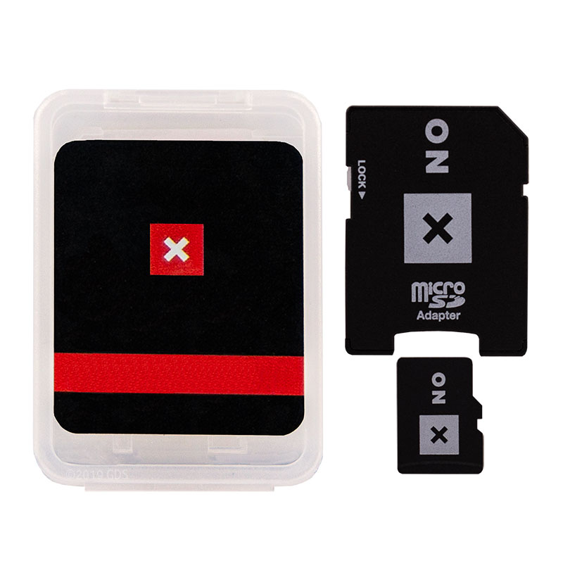 ONXMAPS California Map SD Card and Adapter