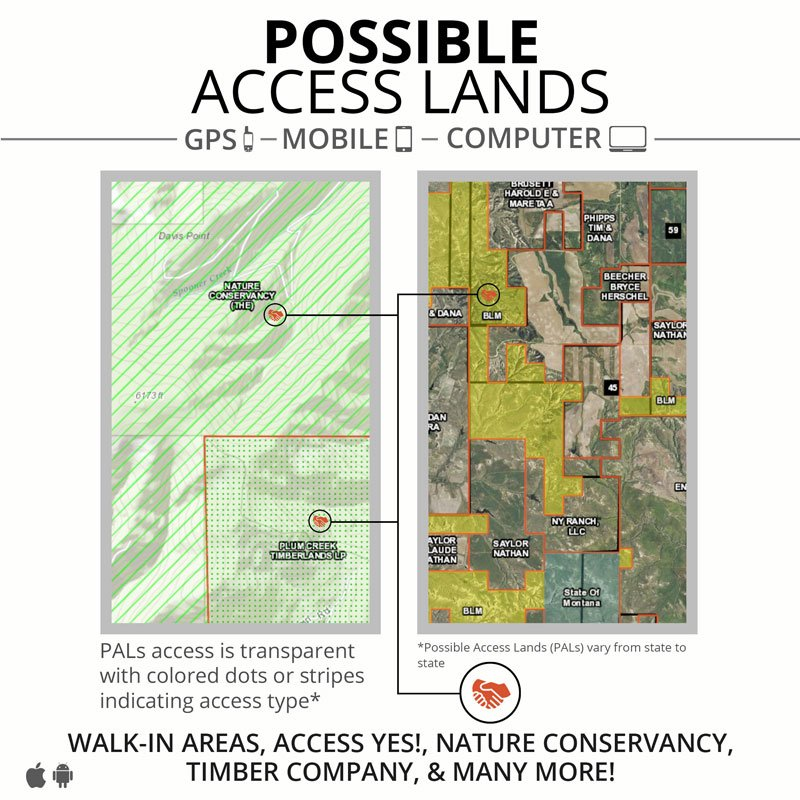 ONXMAPS Hunt Map Access