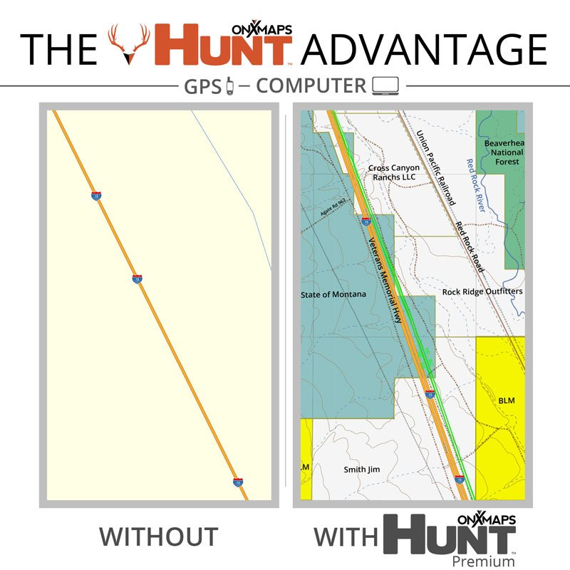 ONXMAPS Hunt Map Advantage