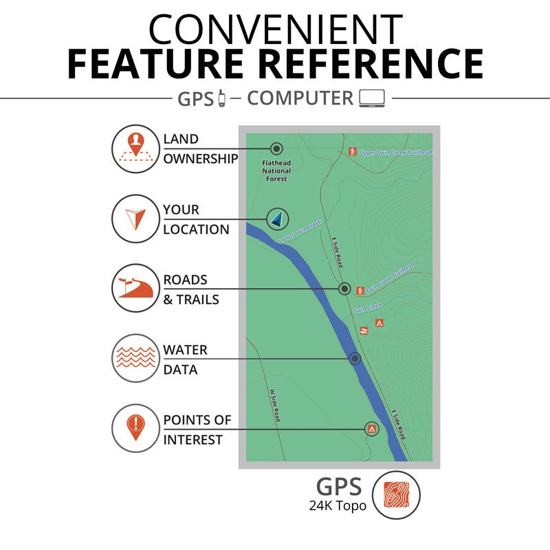 ONXMAPS Hunt Map Feature Reference