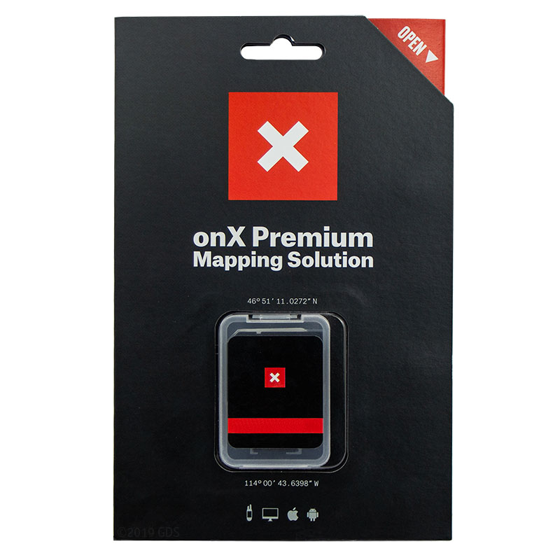 ONXMAPS Idaho Map Package Front