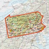 shop ONXMAPS Pennsylvania PLAT Topo Map - Micro SD