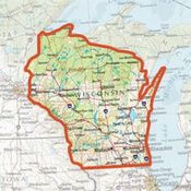 shop ONXMAPS Wisconsin PLAT Topo Map - Micro SD