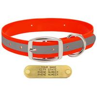shop ORANGE 1 in. Reflective Standard Collar