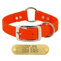 shop ORANGE 1 in. TufFlex Center Ring Collar