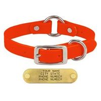 shop ORANGE 3/4 in. TufFlex Center Ring Collar