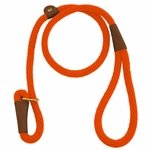 shop ORANGE  British-Style Slip Lead by Mendota 4-Feet