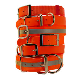 shop Orange Dog Collars