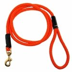 shop Orange Mendota Rope Snap-leash
