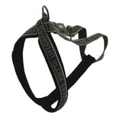 shop CLEARANCE -- BLACK Hurtta Padded Reflective Y-Harness for Dogs