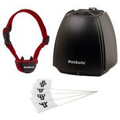 shop PetSafe Stay + Play Stubborn Wireless Rechargeable Pet Fence PIF00-13663