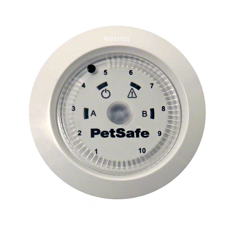 PetSafe YardMax Rechargeable In-Ground Fence Dial Detail