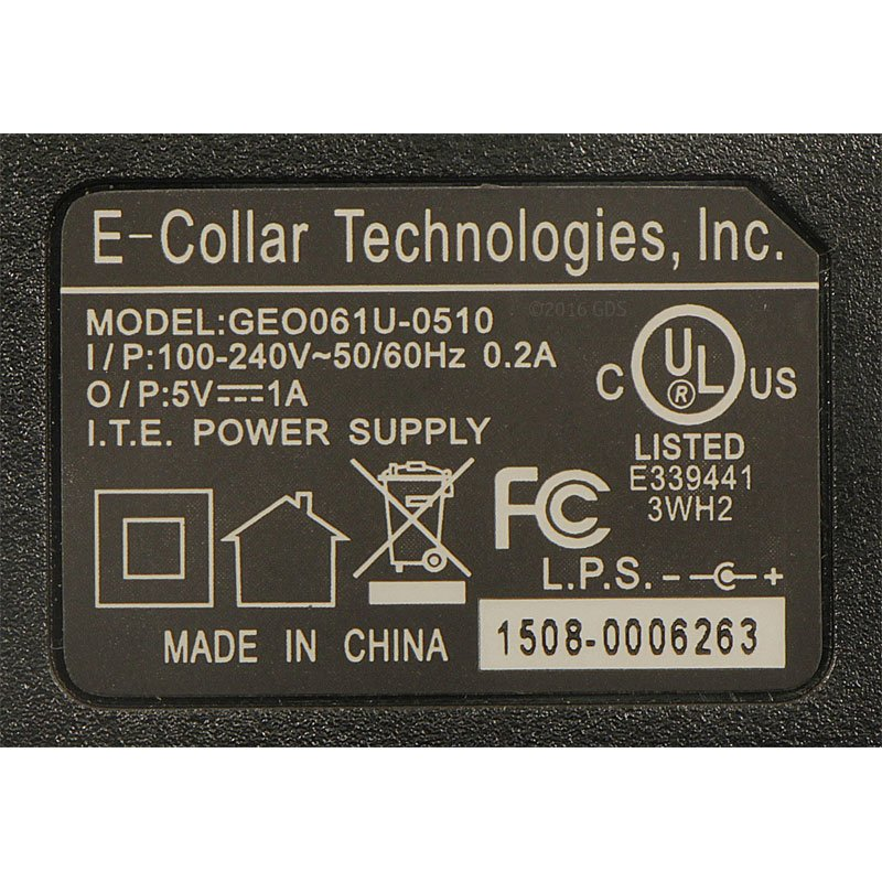 PG-302 Charger Specs