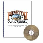 shop Phantom Quail Kennel Building Plans Book and Photographs CD