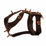 shop Pigeon Harness - Suede Spiked #7492