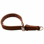 shop Pinch Collar Large - Leather Large 25