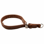 shop Pinch Collar XL - Leather 27 in.