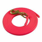 shop Pink 10ft. Puppy Drag Check Cord