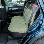 shop Premium Bench Cover Extra Wide Seat in Vehicle