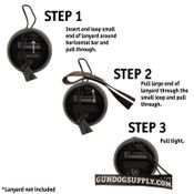 shop pro lanyard instructions