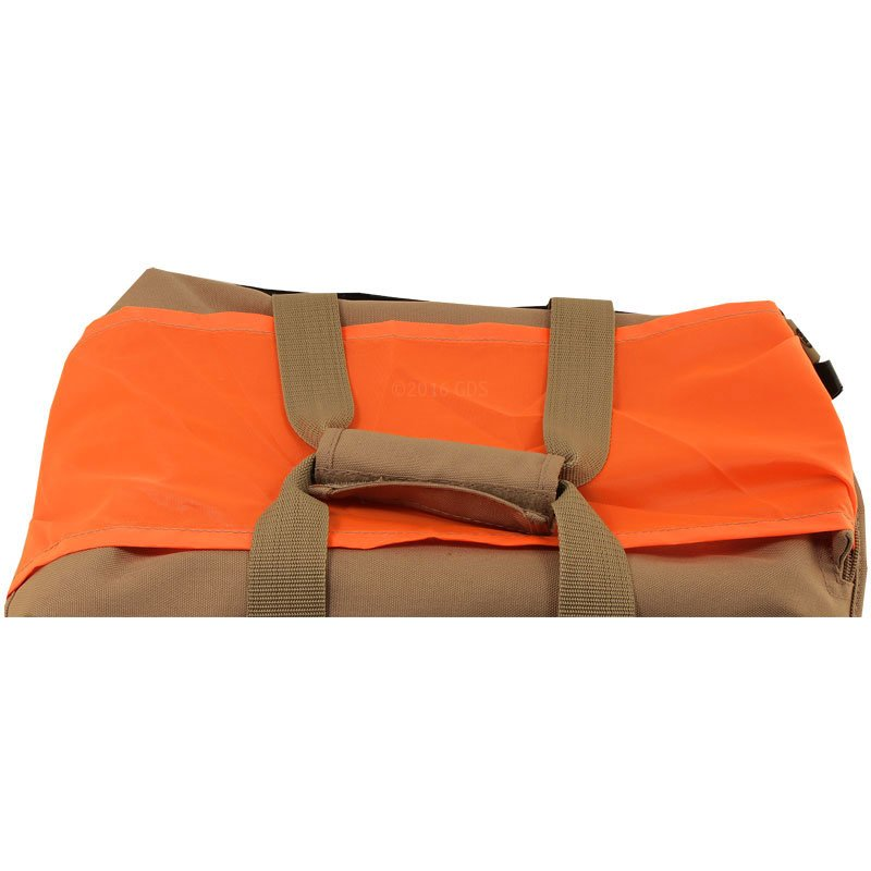 Pro Trainer's Bag Orange Strap Across Top Detail