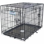shop ProValu Two Door Folding Dog Crates